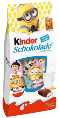 Kinder-Schokolade-Mischtüten mit Minions.
