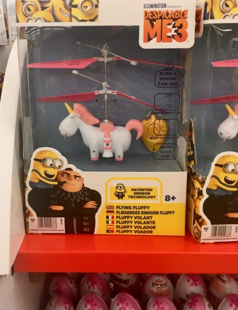 Minions Einhorn Spielzeug