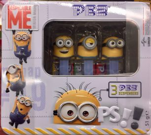 PEZ Edition Box Minions 2017