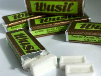 Retro Bonbons Wusil Pfefferminz