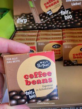 WeltPartner coffee beans fair+bio Espresso in Schokolade