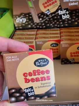 WeltPartner coffee beans fair+bio Espresso in Schokolade