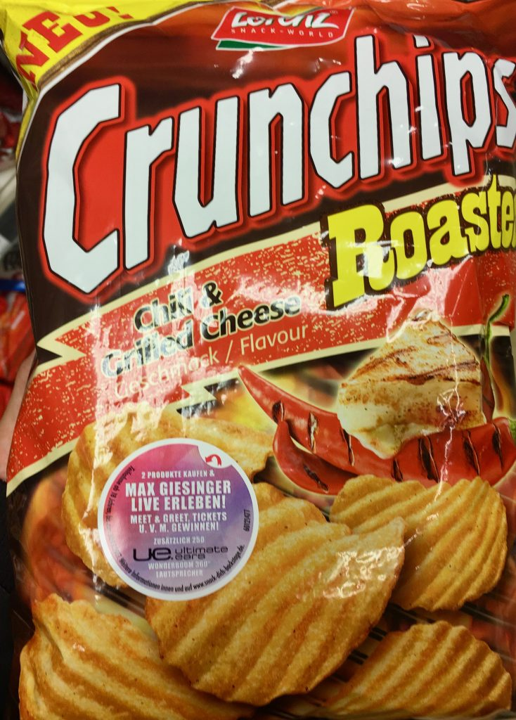 Crunchips Roasted Cheese