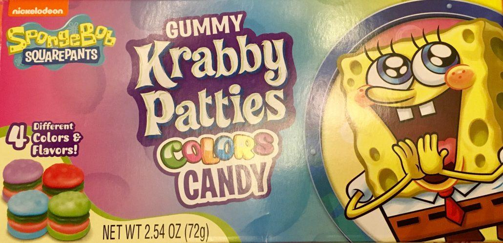 Gummy Krabby Patties Candy Colors Spongebob