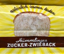 Hümmerlinger Zucker-Zwieback