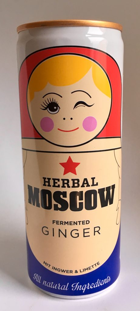 Herbal Moscow Ginger Drink Dose