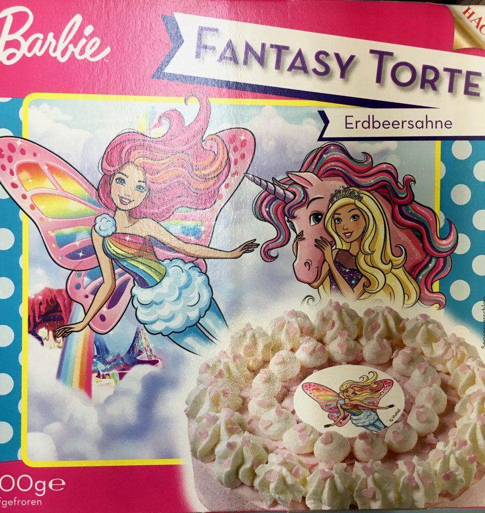 Mattel Barbie-Torte FANTASY Einhorn