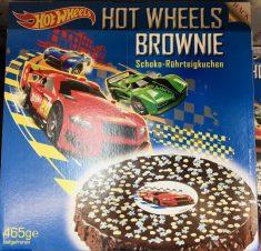Hot Wheels Brownie Torte