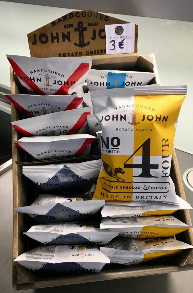 John & John Chips Crisps