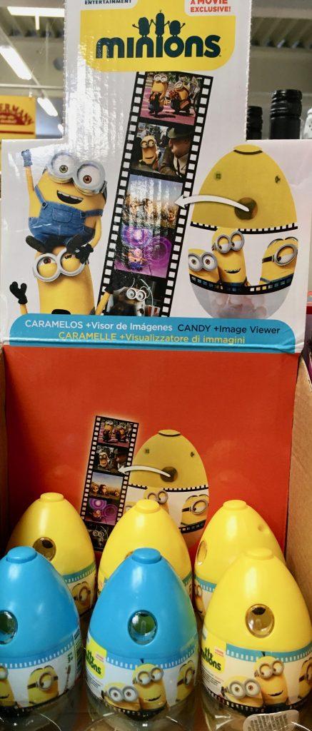 Minions Plastikeier mit Spielzeug