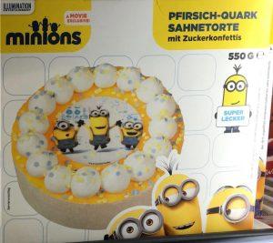 Minions Torte B + F Bakery & Food GmbH