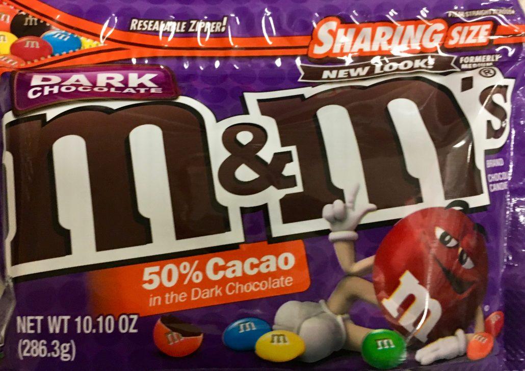 M+M Dark Chocolate