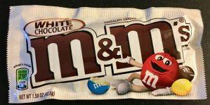 M+M White Choclate