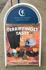 Moonstruck-Schokolade in Portland mit Halloween-Specials.