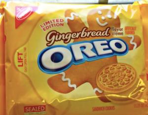 Oreo Gingerbread