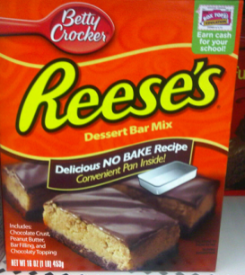 Reeses Dessert Bar Mix