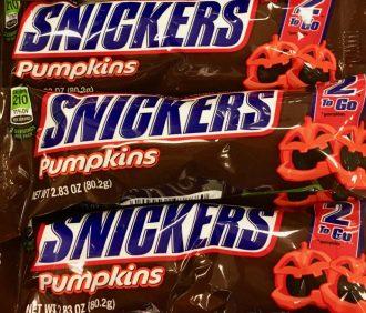 Snickers Pumpkin