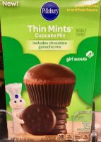 Pillsbury Cupcakes Thin Mints