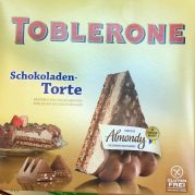 Toblerone Almondy Torte