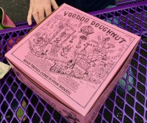 Voodoo Doughnuts Portland Pink Box