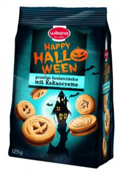 Wikana Happy Halloween Kürbiskekse