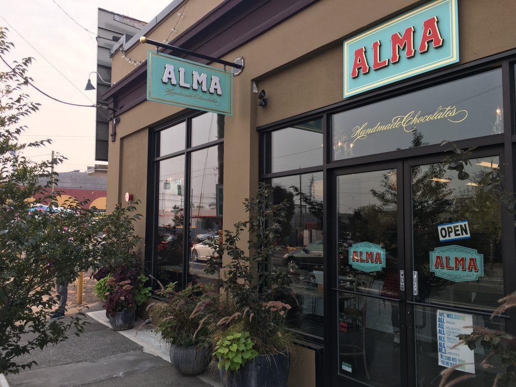 Alma Chocolate Portland