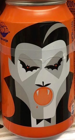 Fanta Dose Halloween Dracula