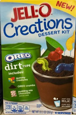 Jello-O Creations Dessert Oreo Dirt