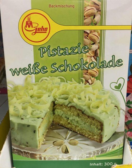 Kathi Pistazien-Kuchen mit weißer Schokolade