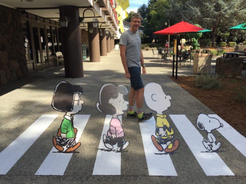 Auch die Peanuts von Charles M. Schulz haben Werbung für Süßes gemacht