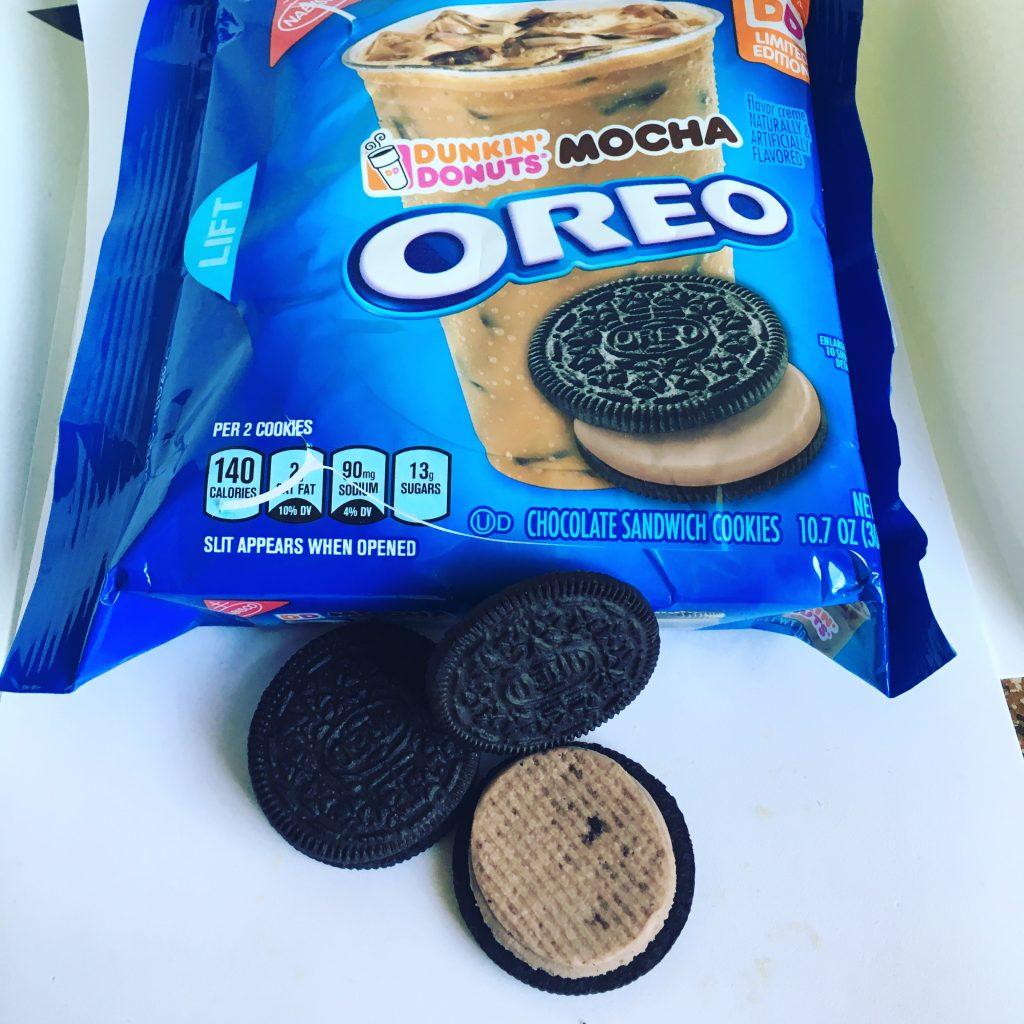 Oreo Dunkin' Donuts' Mocha