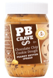 Peanut Butter Crave Spread Chocolate Chip Cookie Dough