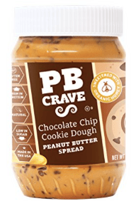 Peanut Butter Crave Spread Chocolate Chip Cookie Dough