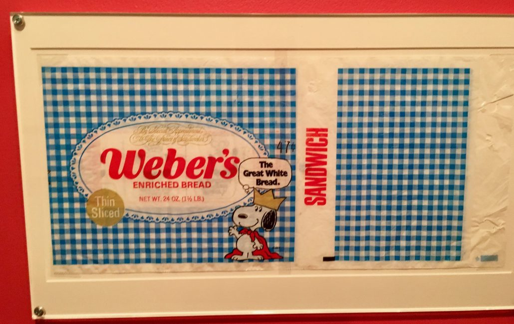 Peanuts Snoopy Webers Enriched Bread