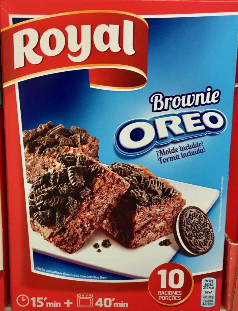 Royal Oreo Brownie Backmischung