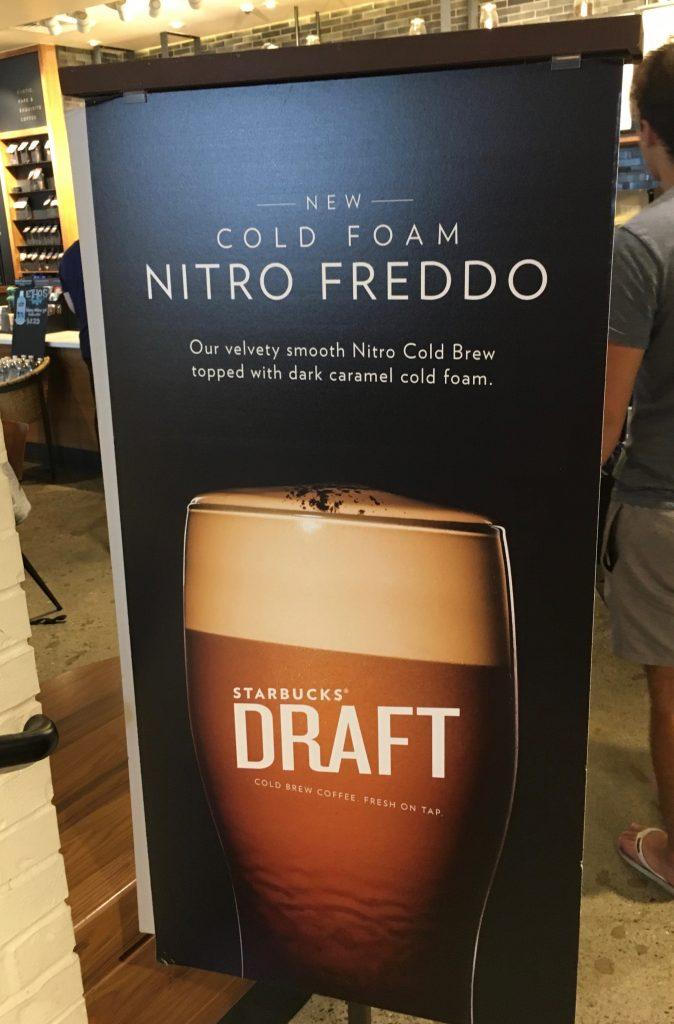 Starbucks Draft Bier