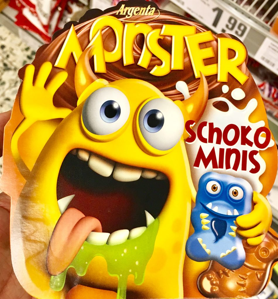 Argenta Monster Schoko-Minis