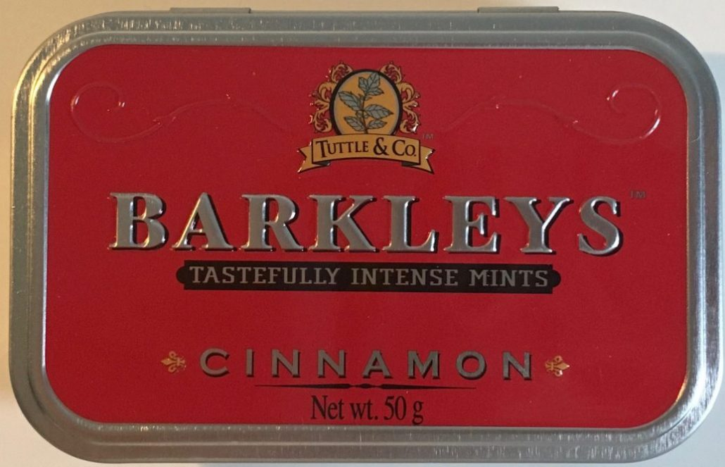 Barkleys Intense Mints Cinnamon Mint Zimt