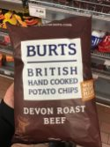 Burts Chips Devon Roast Beef