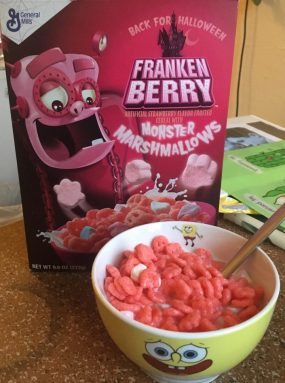 FrankenBerry Monster Marshmallows General Mills