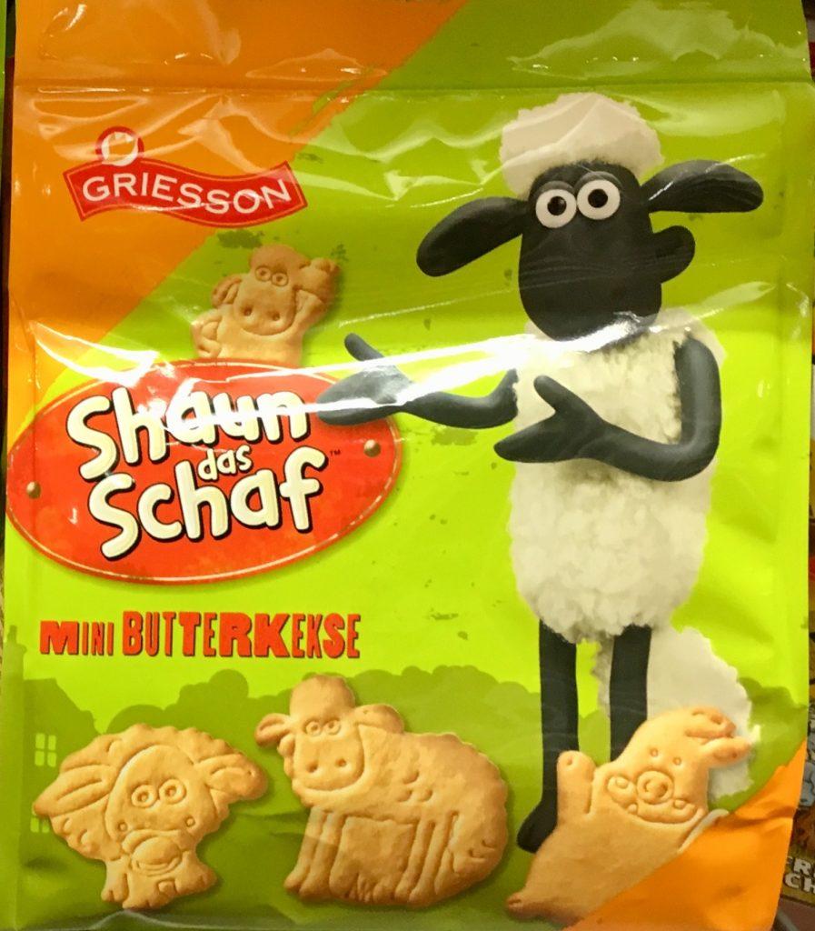 Griesson Shaun das Schaf Kekse
