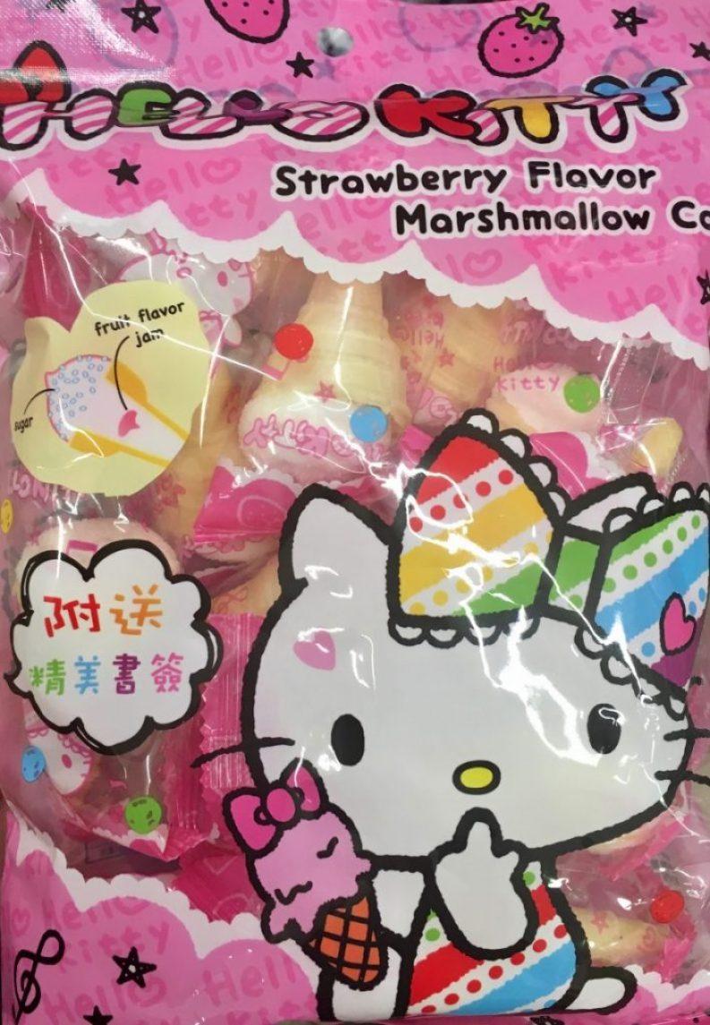 Hello Kitty ist so süß – klar, dass es viele Süßigkeiten mit dieser Lizenzfigur gibt!
