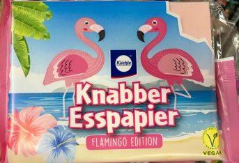 Küchle Rotes Esspapier Flamingo