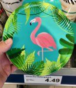 Noch mehr Flamingo-Kekse: Dänische Butterkekse von der dänischen Kelsen Group in der schönen Schmuckdose mit Flamingo-Motiv.