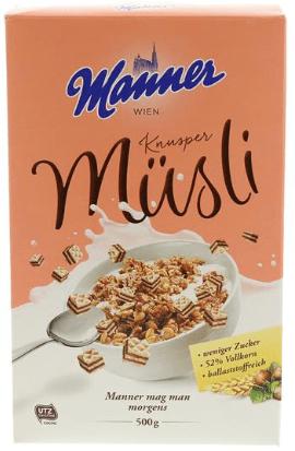 Manner Knusper-Müsli Wien