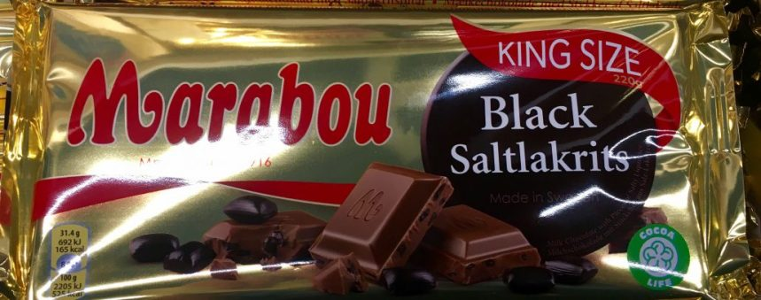 Marabou Black Salmiak Lakritz