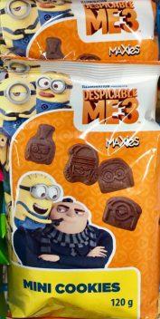 Noch mehr Minions Kekse...