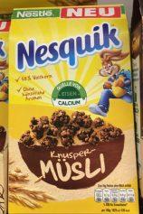 Nestle Nesquick Knusper-Müsli