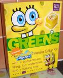 Spongebob Greens Vanilla Cake Kit Backmischung