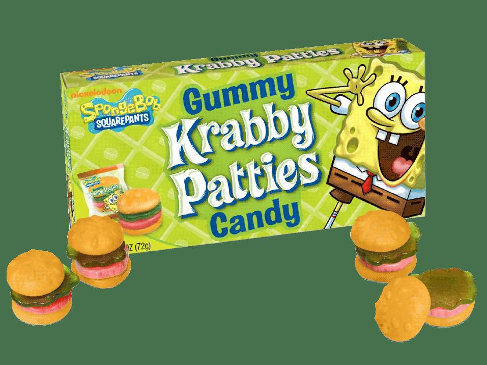Spongebob Gummy Krabby Patties